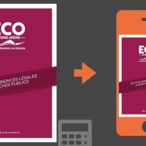 Vos annonces légales et marchés publics ECO Nord Isère du 10 juillet 2020