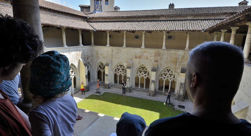 Festival d'Ambronay, visites concerts abbaye