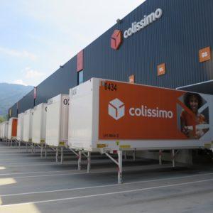 Marché du colis : la plateforme Colissimo Alpes en plein essor