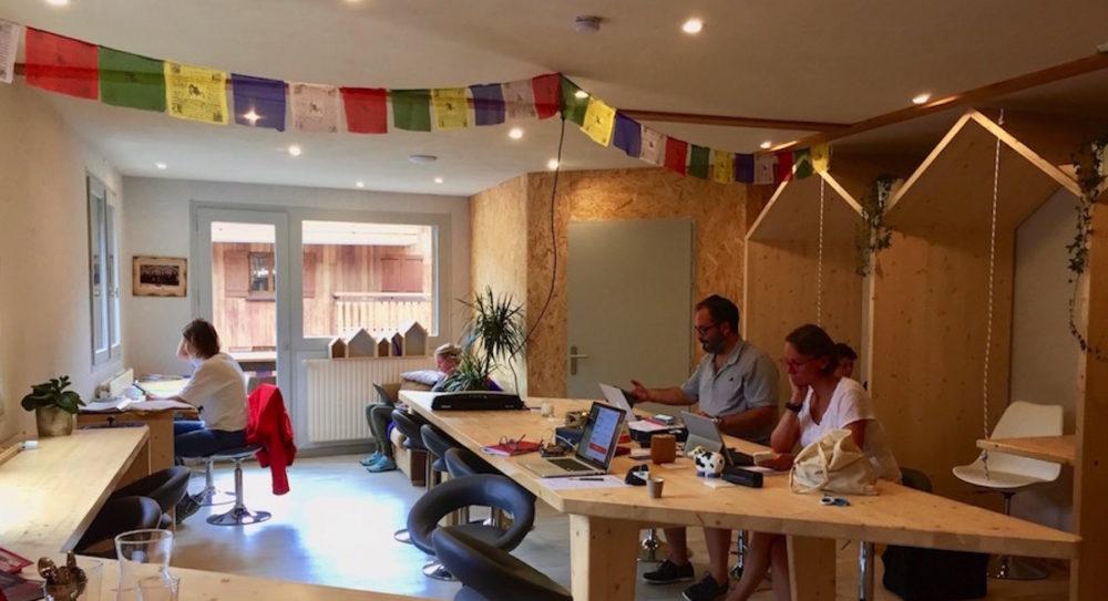 Publi-reportage / Le Pêle coworking : espace de travail partagé de montagne, idéal pour télétravailler !