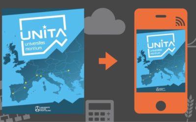 Votre magazine Unita 2021 : l'aventure européenne pour l'Université Savoie Mont Blanc