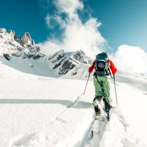 Ski de randonnée : Plum a le vent en poupe