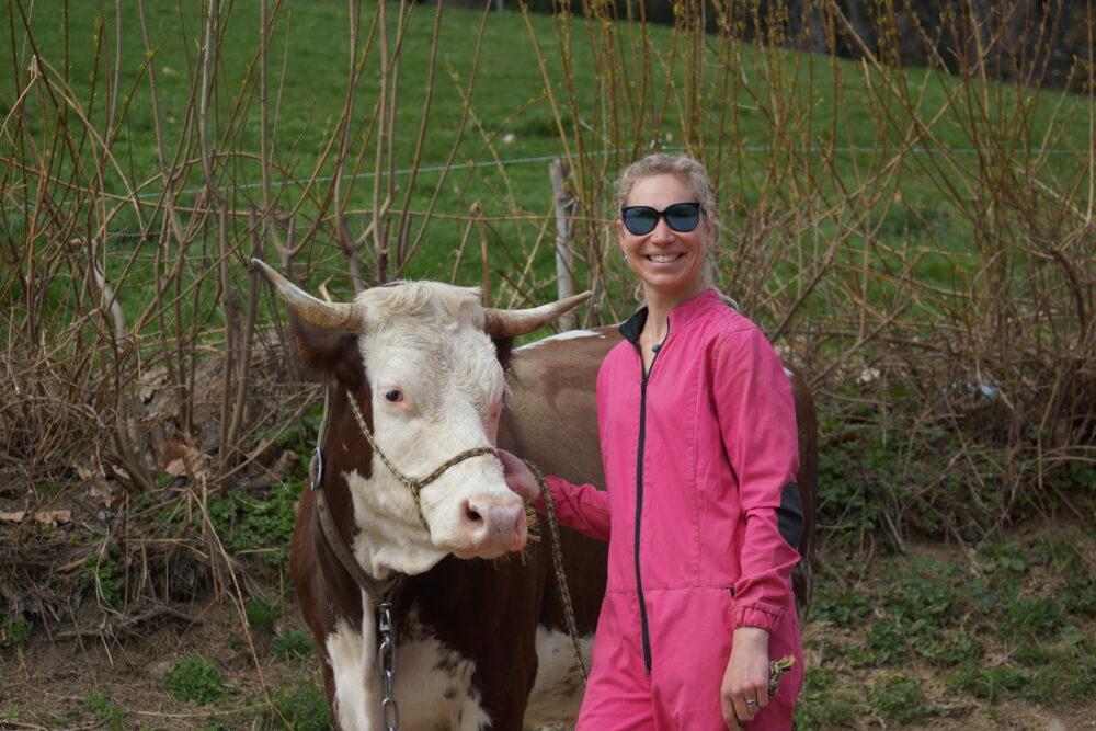 Flavie Melendez, « infermière » en lice pour Graines d'agriculteurs