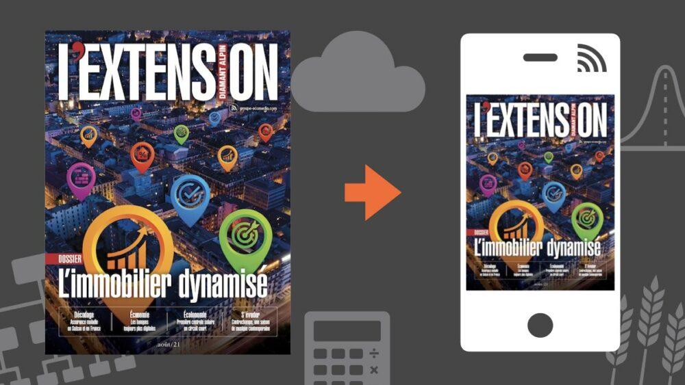 Votre magazine L'EXTENSION Septembre 2021
