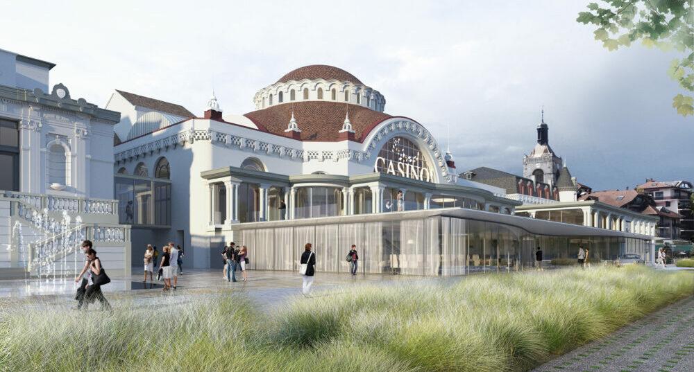 Bientôt le renouveau pour le casino d'Évian