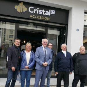 Une nouvelle agence et un plan de développement pour Cristal Habitat